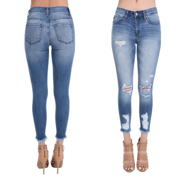 c05078e674a69 KanCan Jeans | Nwt Sharonsummer Distressed Skinny | Poshmark